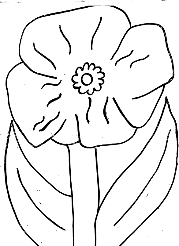 color poppy 18 poppy coloring pages pdf jpg free premium templates poppy color