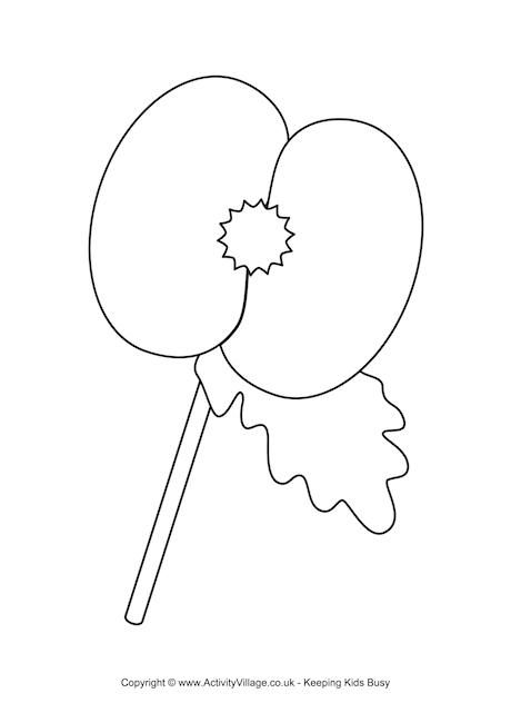 color poppy free printable flower coloring pages for kids best color poppy