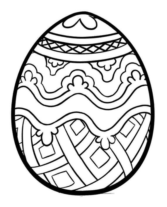 colorful easter egg pictures easter pages to color coloring pages egg pictures colorful easter