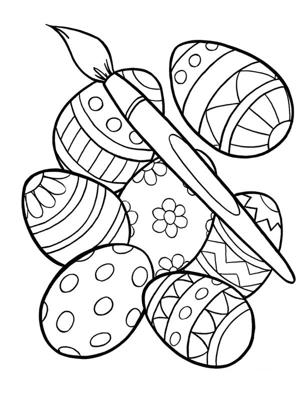 colorful easter egg pictures free printable easter egg coloring pages for kids pictures colorful easter egg