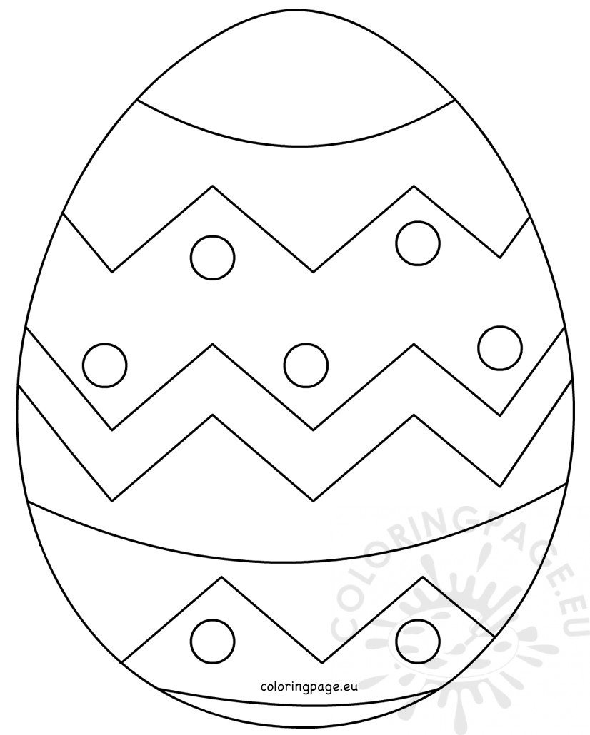 colorful easter egg pictures large easter egg patterns coloring page easter colorful egg pictures