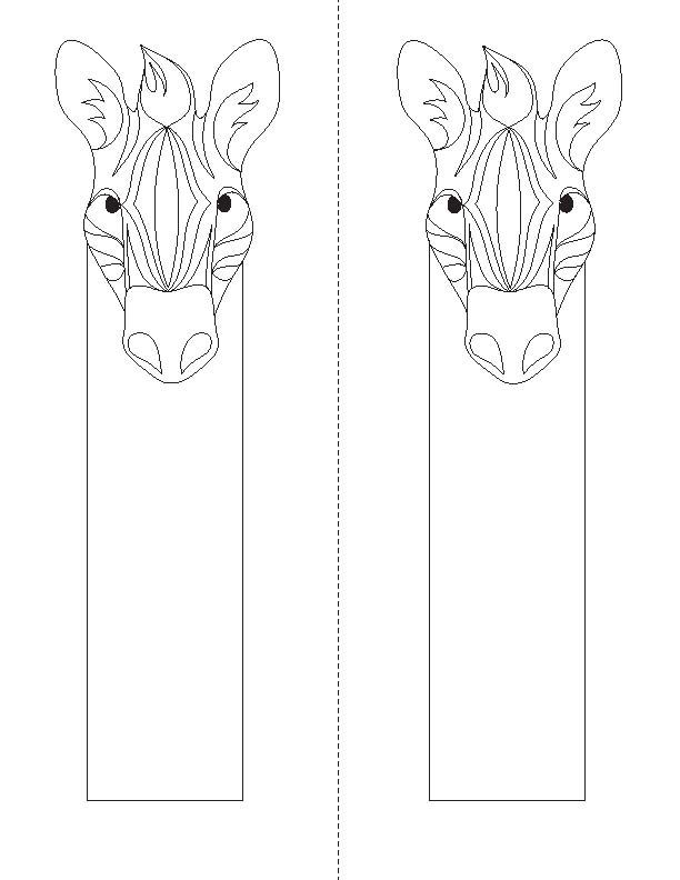 coloring animal bookmarks cute animal picture bookmarks coloring pages cute animal bookmarks animal coloring