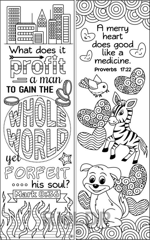 coloring animal bookmarks set of 8 animals insects bible coloring bookmarks cute bookmarks animal coloring