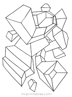 coloring art set abstract coloring pages for kids mr printables coloring art set