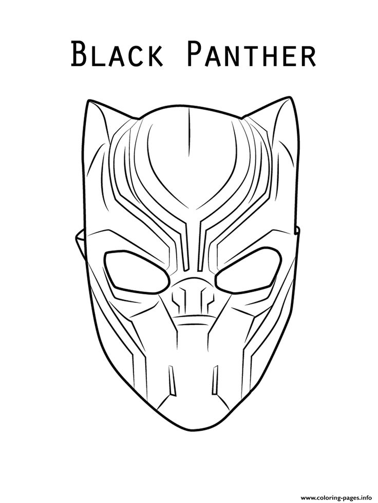 coloring avengers mask printable print marvel movie black panther mask coloring pages mask coloring printable avengers
