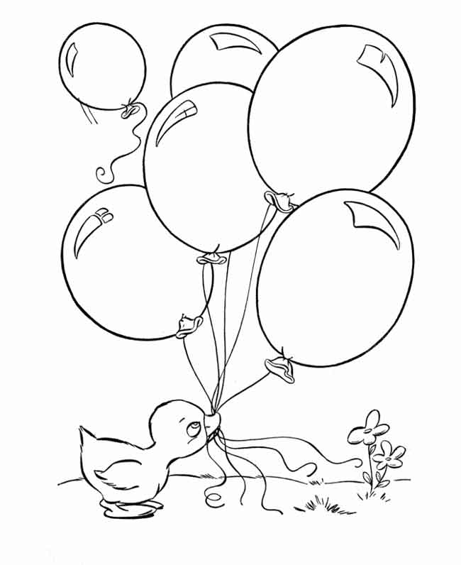 coloring ballons 10 best free printable balloon coloring pages for kids ballons coloring 1 1