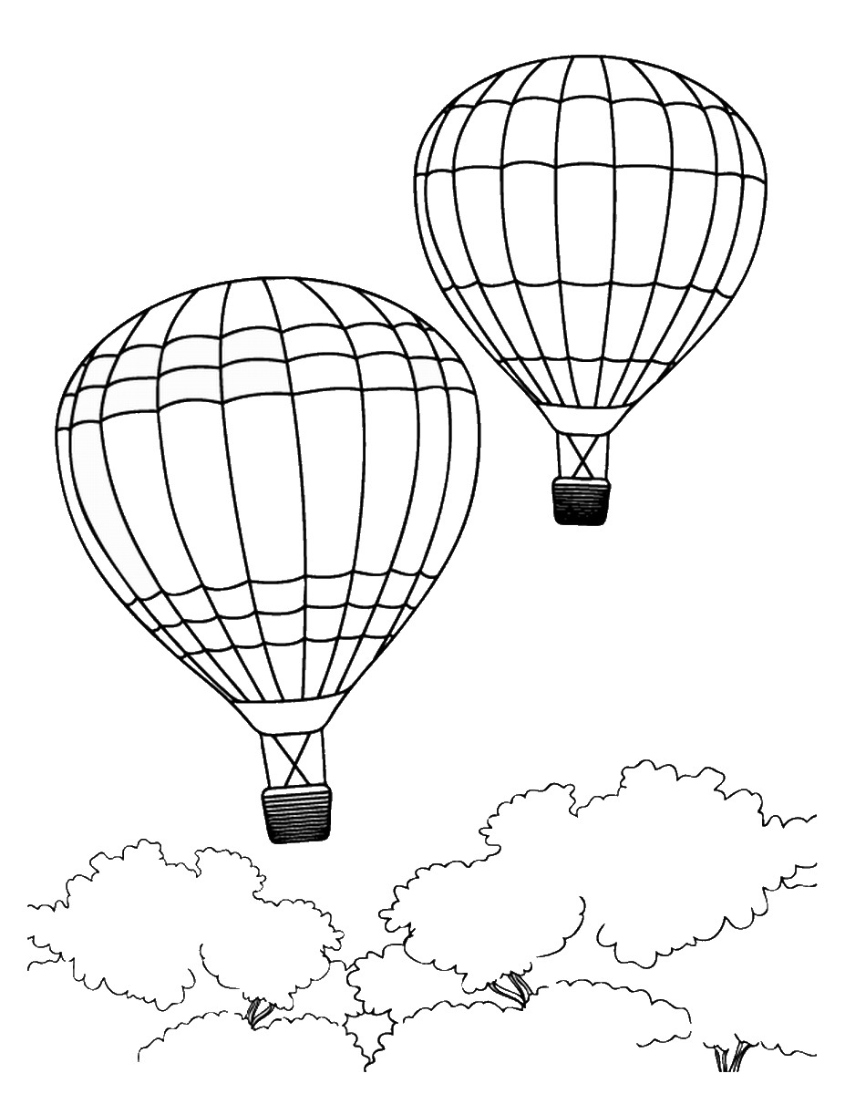 coloring ballons balloon coloring pages best coloring pages for kids coloring ballons