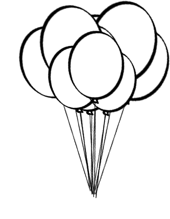 coloring ballons balloon coloring pages best coloring pages for kids coloring ballons 1 1