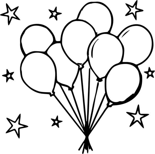 coloring ballons coloring pages balloon coloring home ballons coloring