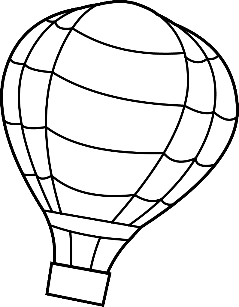 coloring ballons free preschool coloring pages hot air balloon from balloon coloring ballons