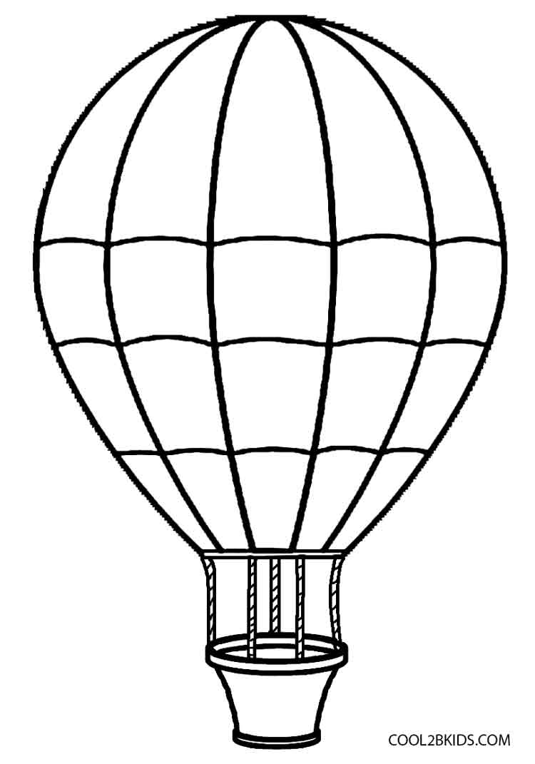 coloring ballons hot air balloon coloring pages cool2bkids coloring ballons