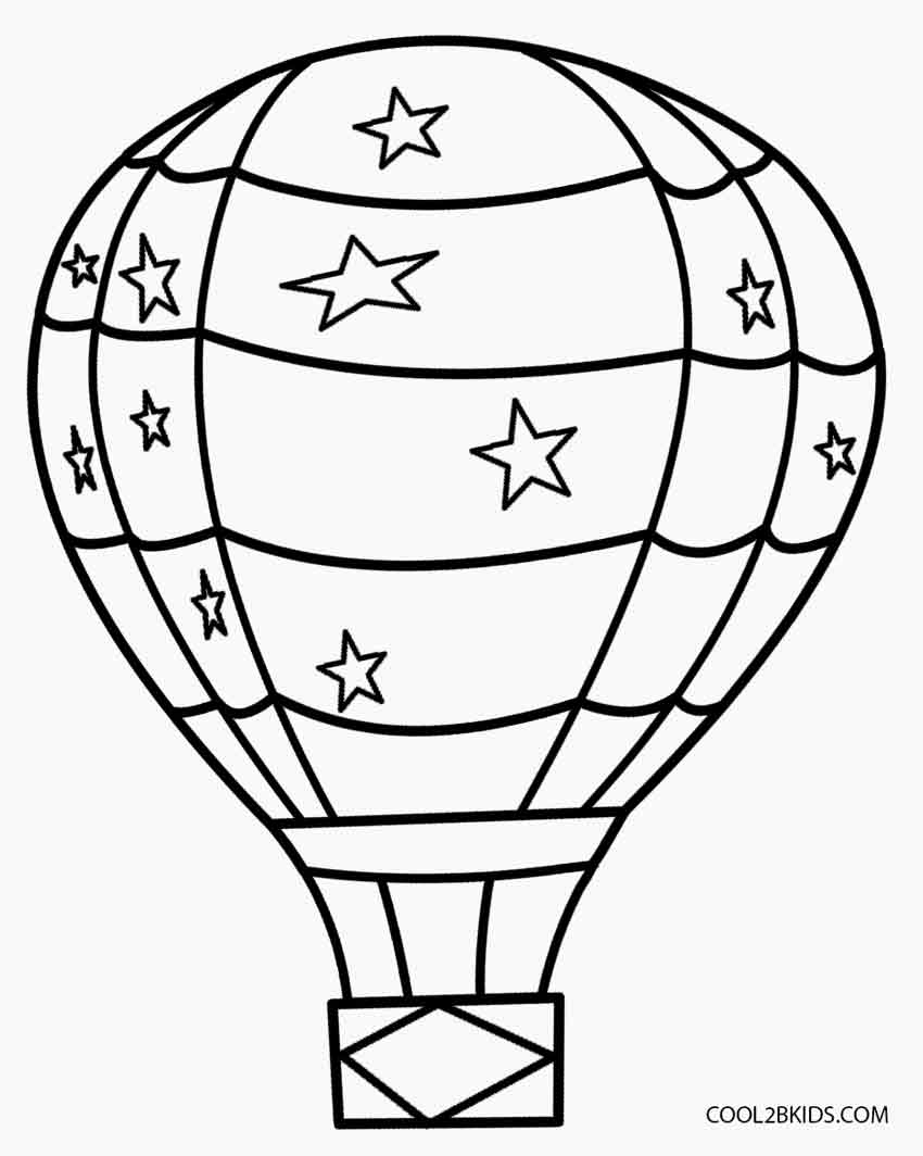 coloring ballons hot air balloon coloring pages cool2bkids coloring ballons 1 1