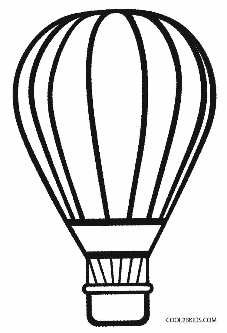 coloring ballons printable hot air balloon coloring pages for kids cool2bkids ballons coloring