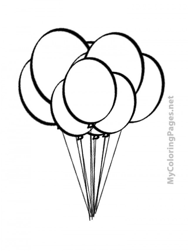 coloring balloon drawing for kids balloon coloring pages best coloring pages for kids for balloon drawing coloring kids
