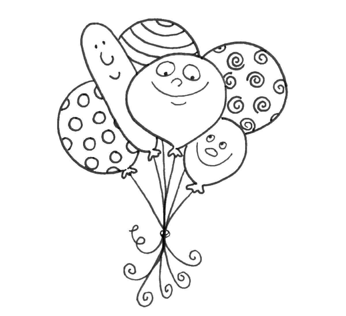 coloring balloon drawing for kids balloon coloring pages best coloring pages for kids kids balloon for drawing coloring