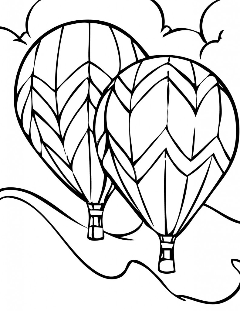 coloring balloon drawing for kids balloons coloring pages drawing for balloon kids coloring