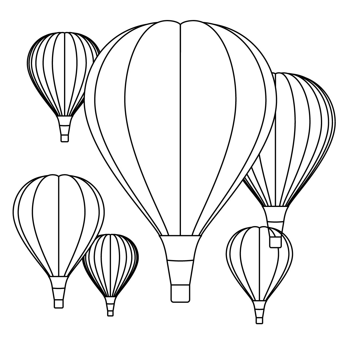 coloring balloon drawing for kids free printable hot air balloon coloring pages for kids balloon drawing kids coloring for