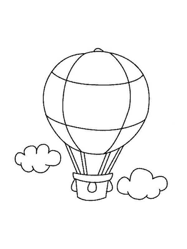 coloring balloon drawing for kids free printable hot air balloon coloring pages for kids for balloon coloring drawing kids