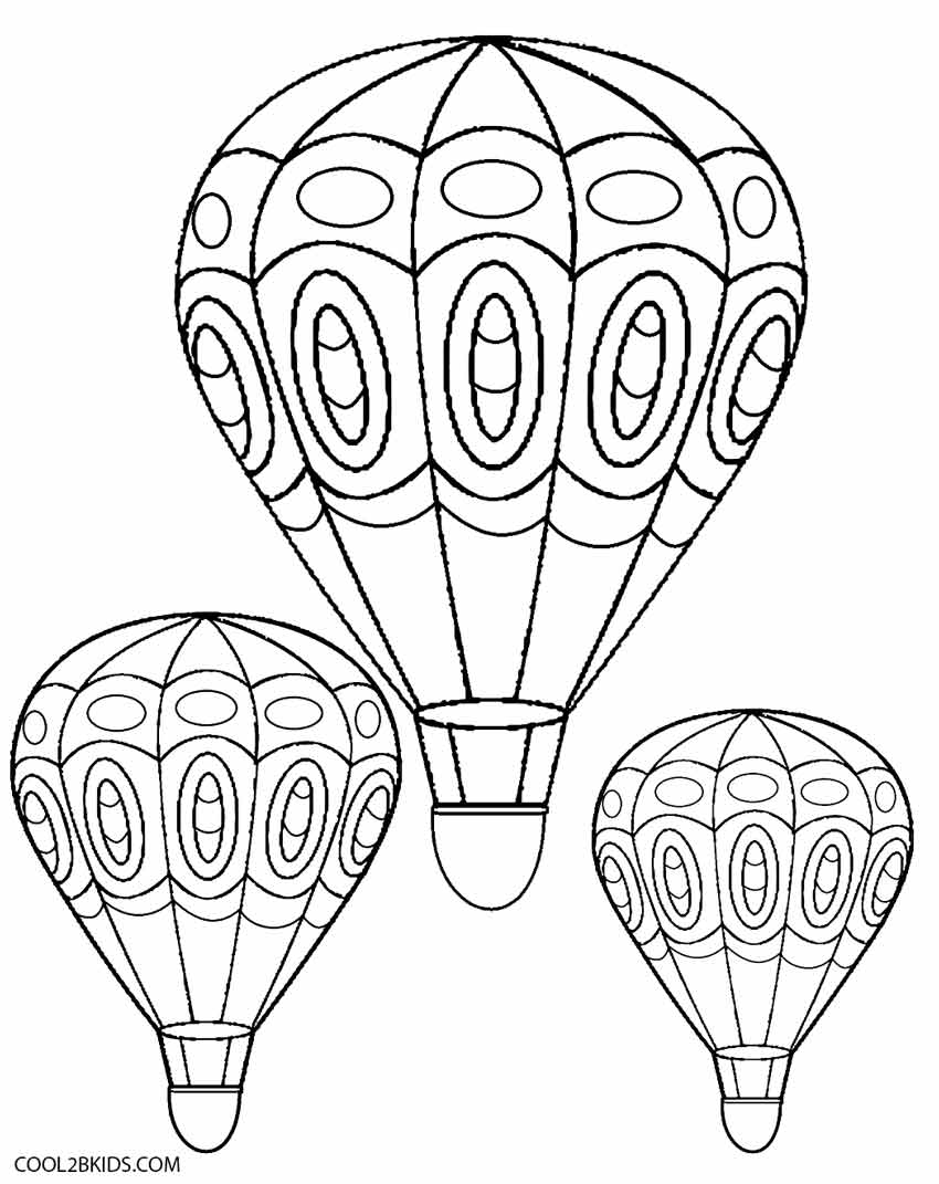 coloring balloon drawing for kids preschool coloring pages boy with balloons kids coloring drawing balloon for