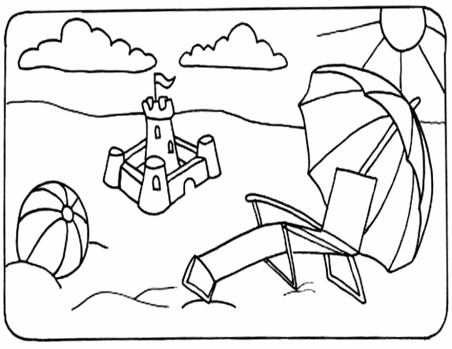coloring beach pages 25 free printable beach coloring pages scribblefun coloring pages beach