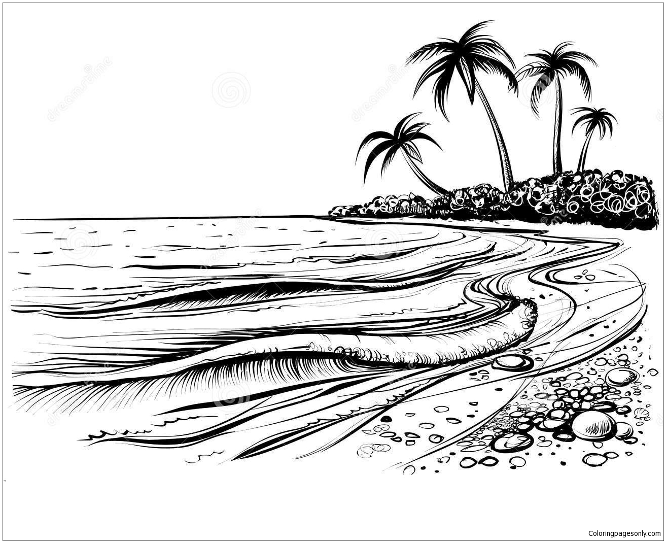 coloring beach pages beach coloring pages collection 2010 coloring pages beach