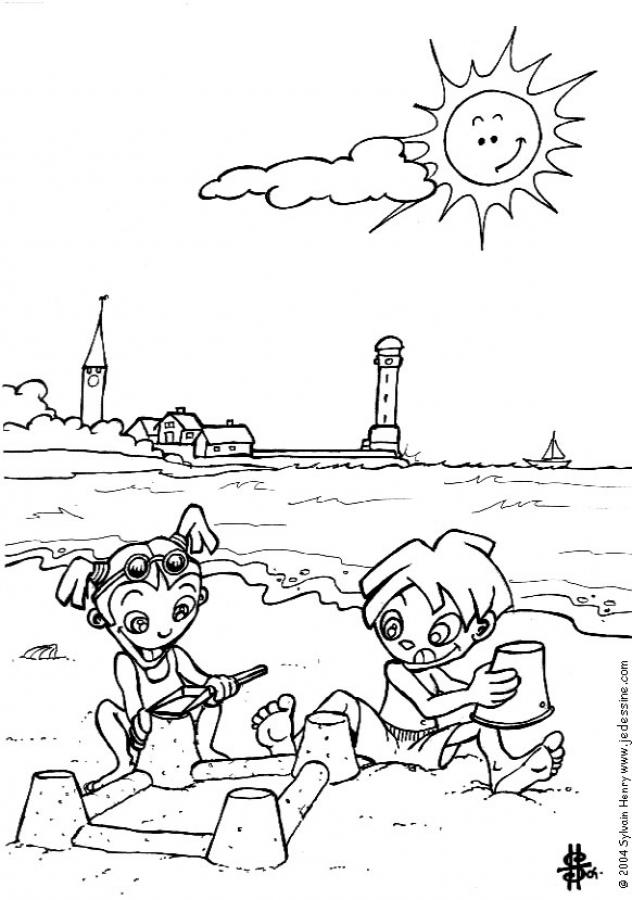 coloring beach pages beach scenes coloring pages coloring home coloring beach pages