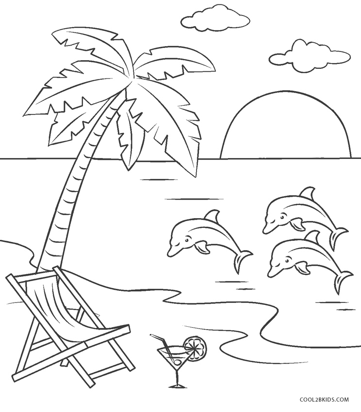 coloring beach pages free printable beach coloring pages for kids coloring pages beach