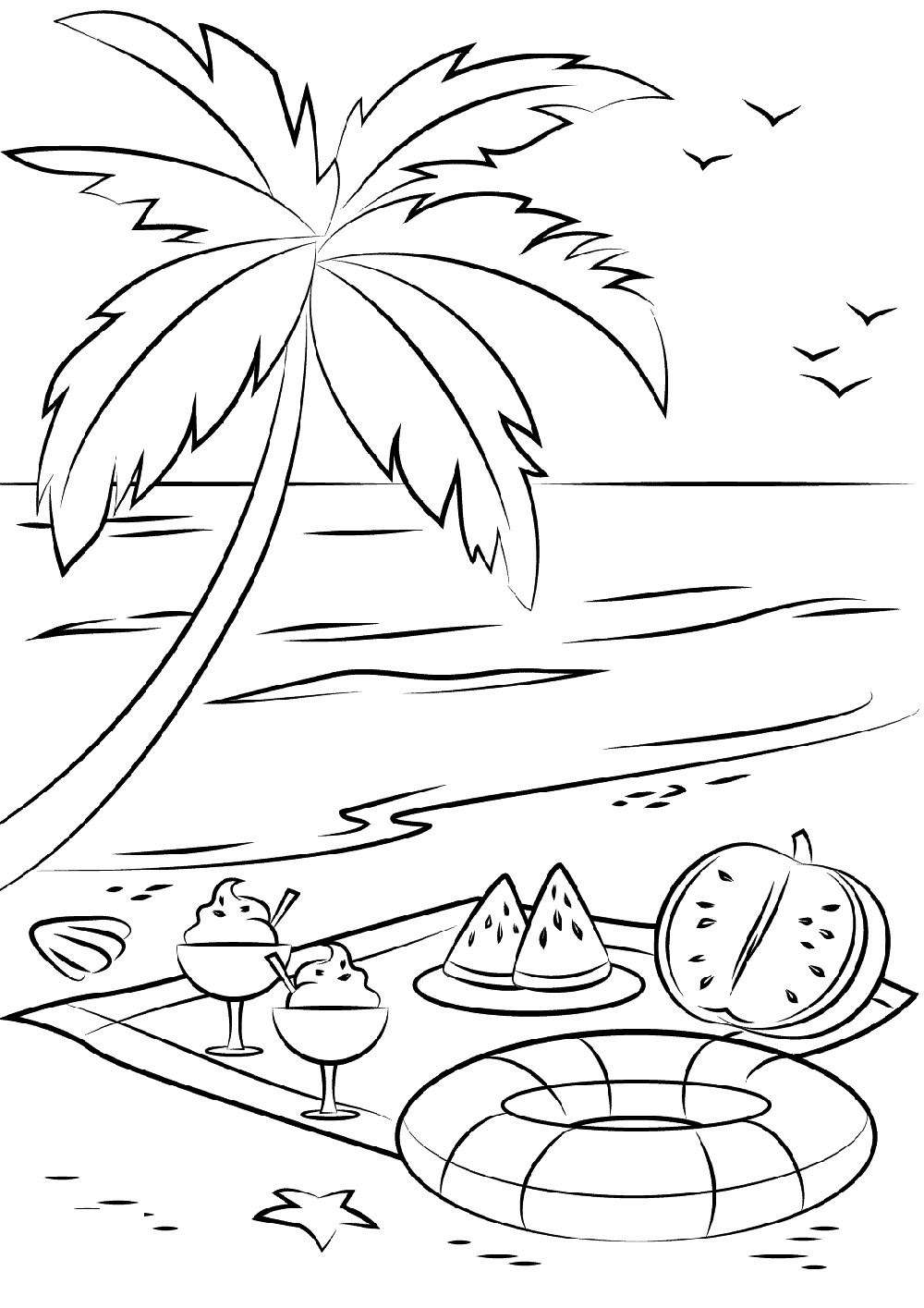 coloring beach pages fun coloring pages beach coloring pages coloring beach pages