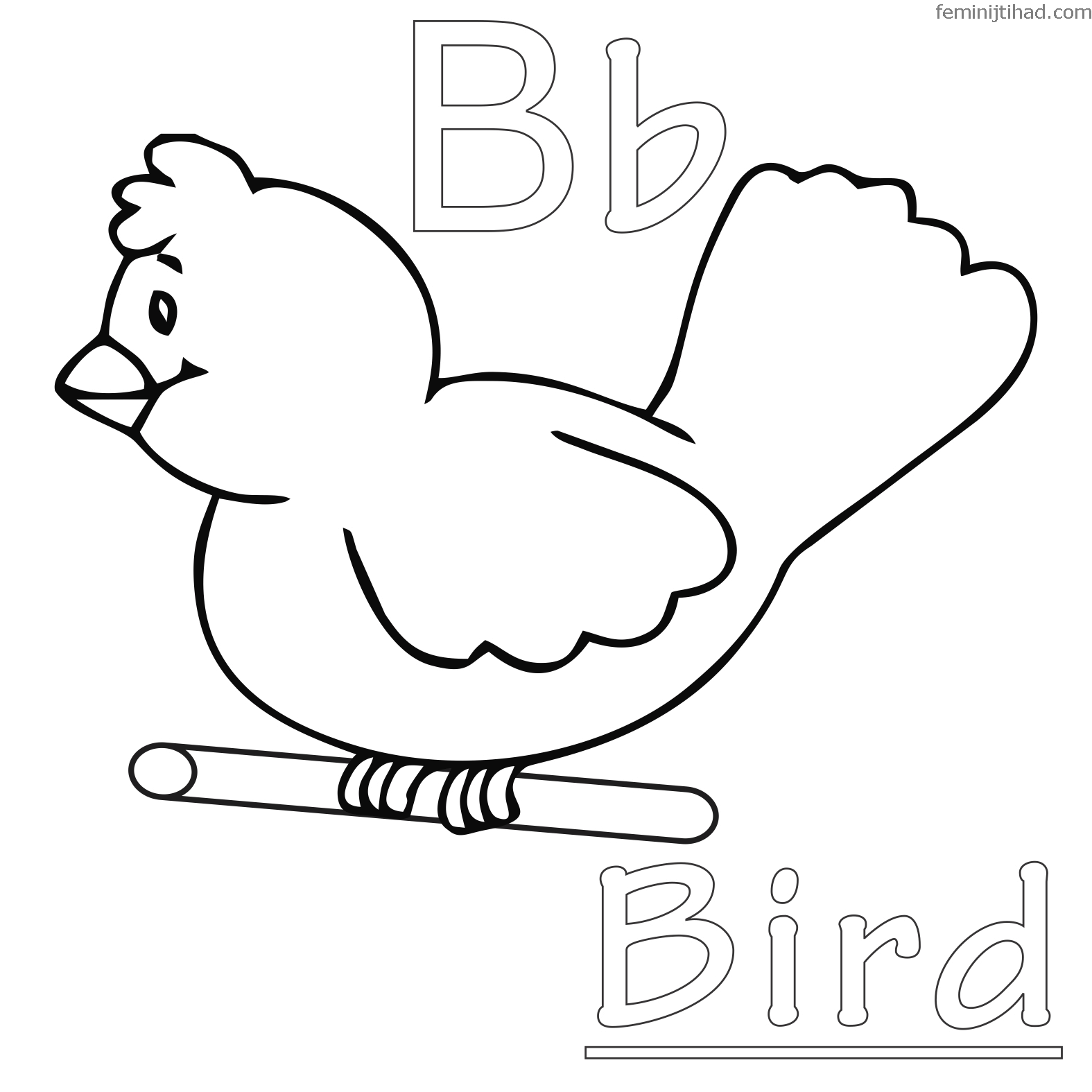 coloring birds for kids bird feather coloring pages at getcoloringscom free coloring for birds kids