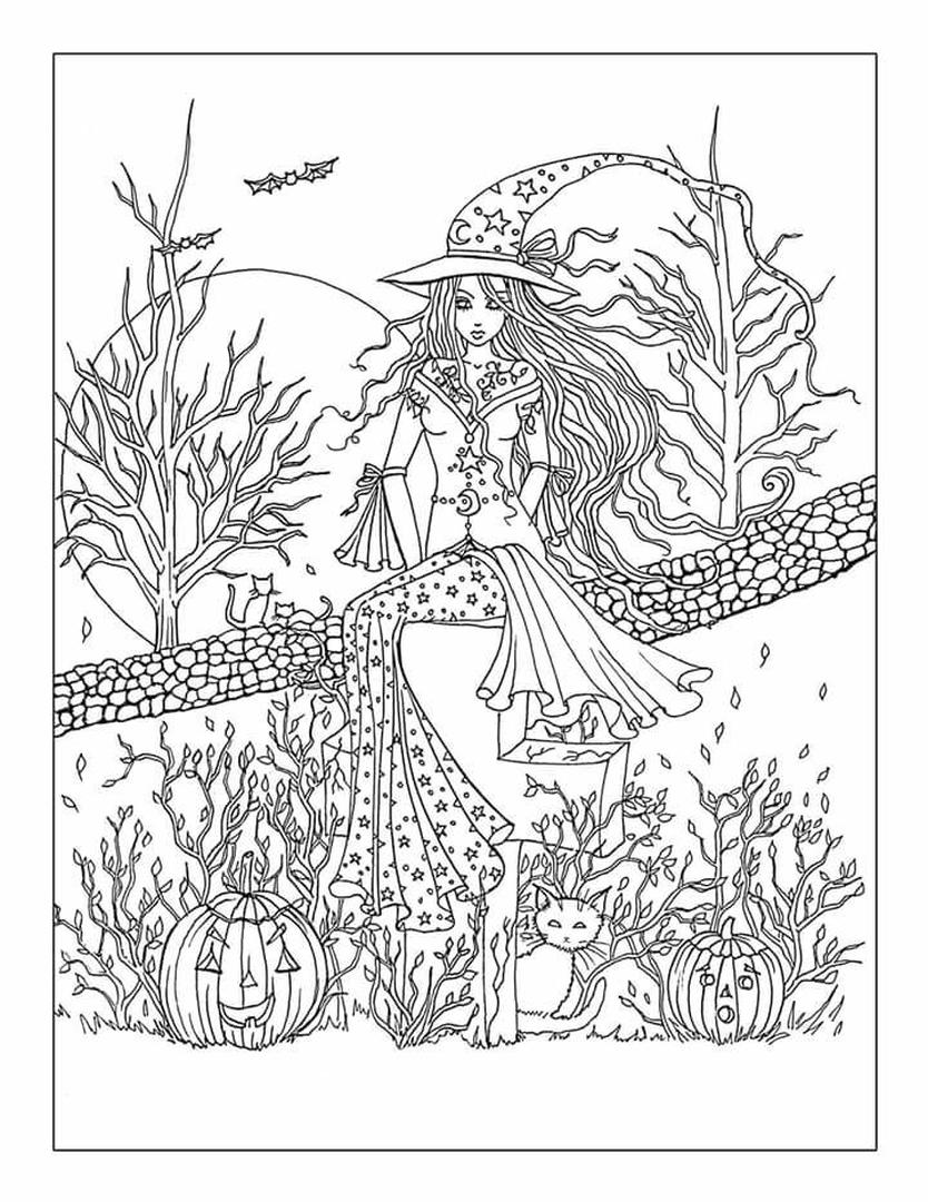 coloring book for adults 20 free printable adult halloween coloring pages book coloring adults for