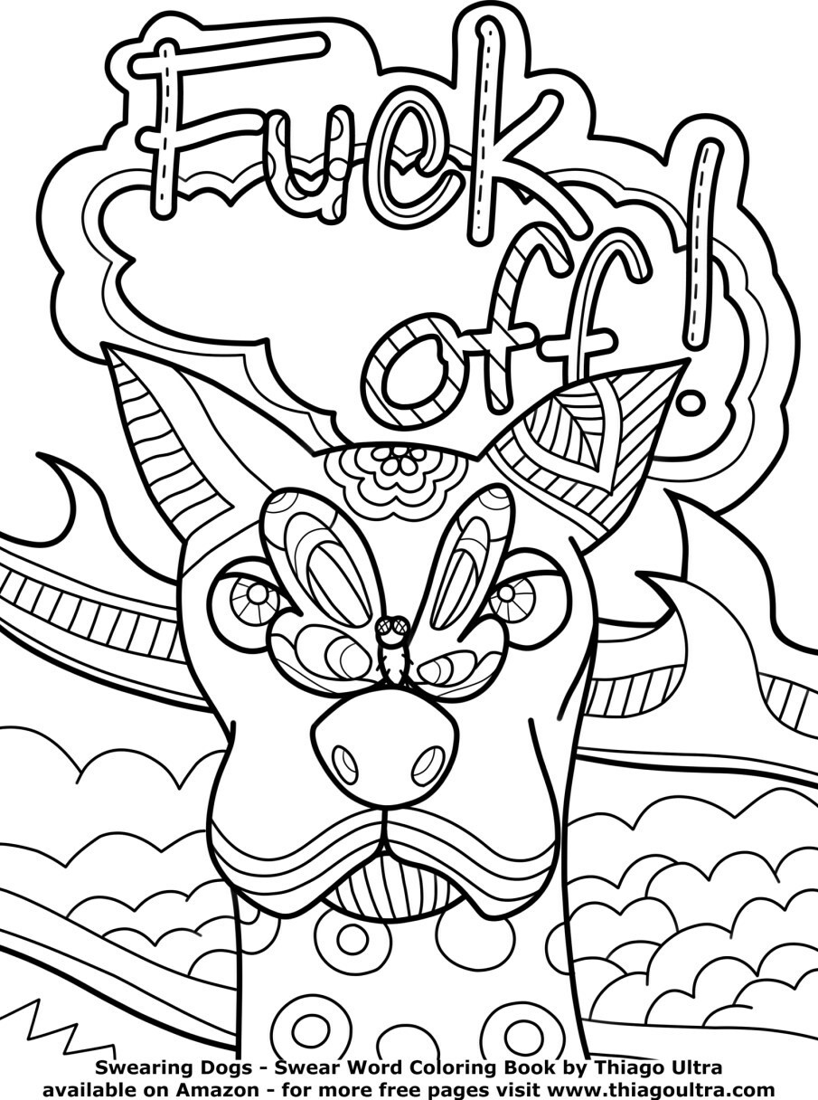 coloring book for adults free printable coloring pages for adults swear words coloring adults for book