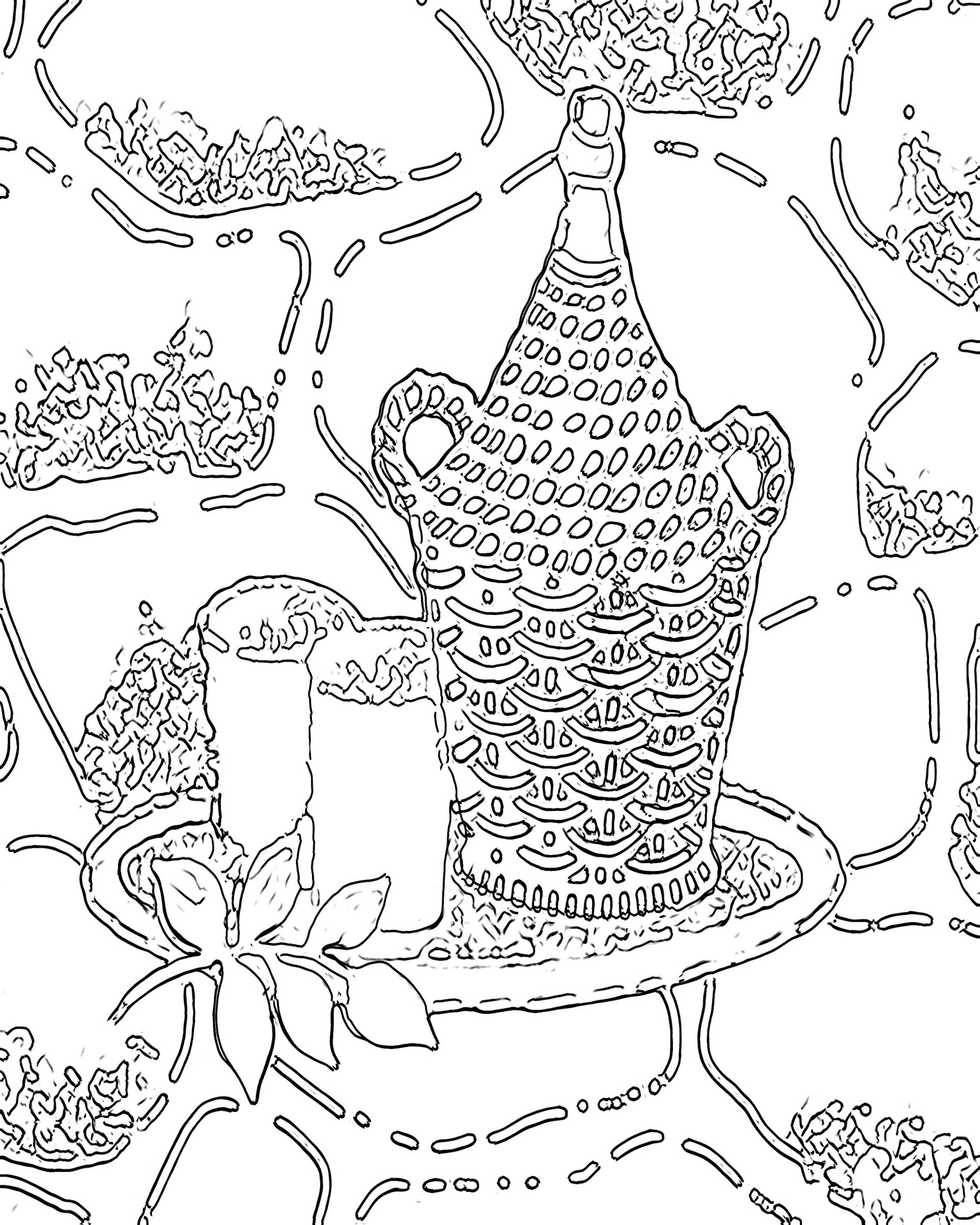 Coloring book for adults printable
