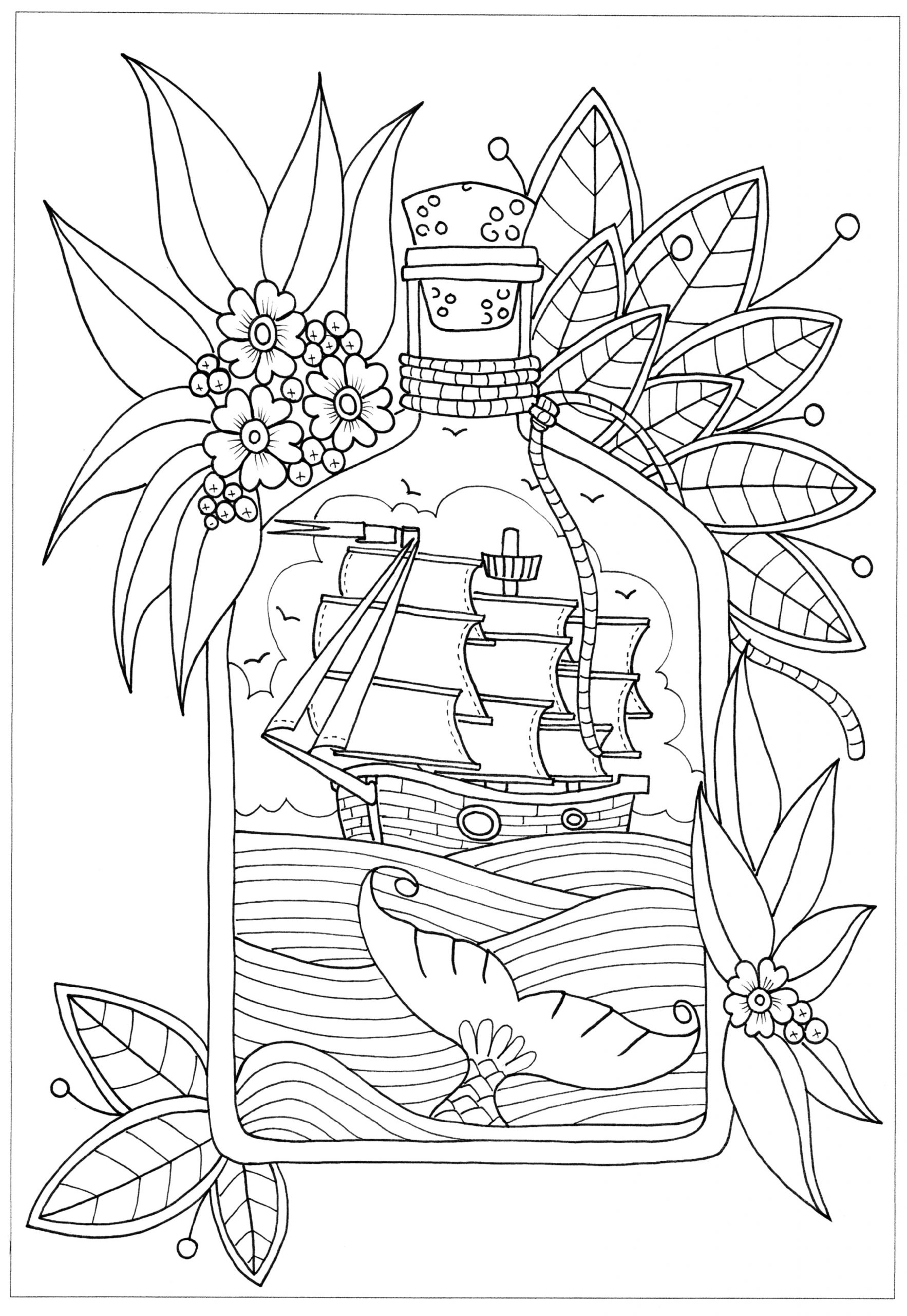 coloring book for adults printable pirate color pages 101 activity coloring book adults for