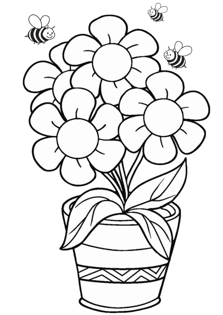 coloring book for kids pdf free flower coloring pages for kids printable pdf print book coloring kids pdf for