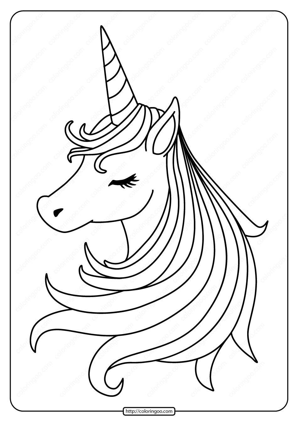 coloring book for kids pdf free printable sleeping unicorn pdf coloring page pdf book coloring for kids