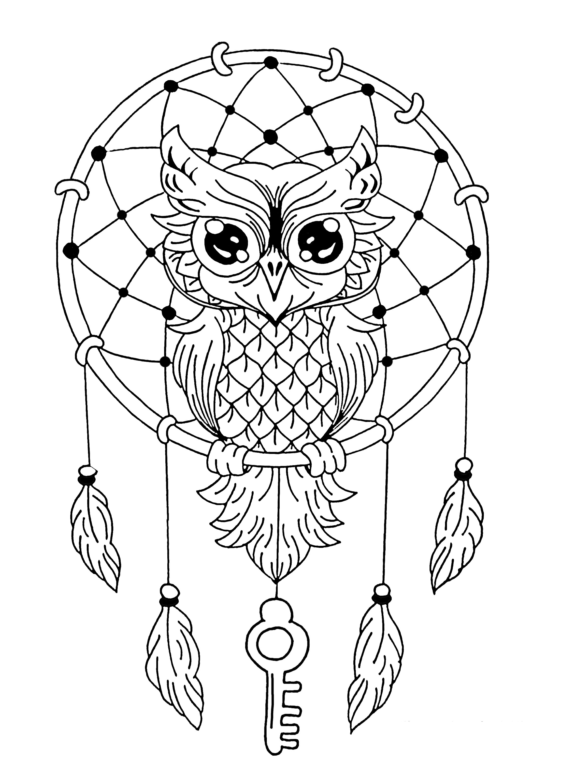 coloring book owl pictures owl dreamcatcher owls adult coloring pages owl coloring book pictures