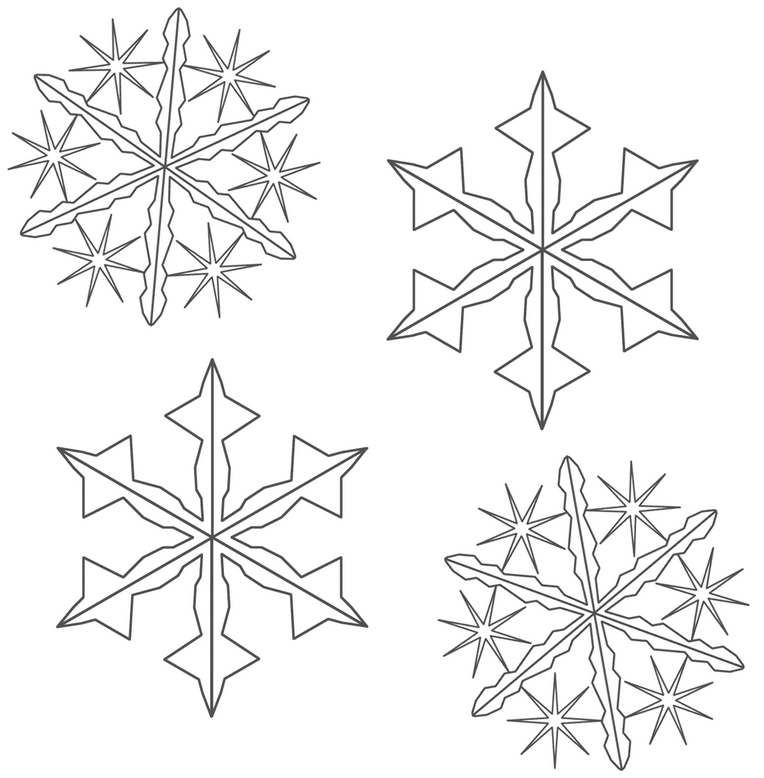 coloring book snowflake snowflake colouring pages in the playroom book coloring snowflake