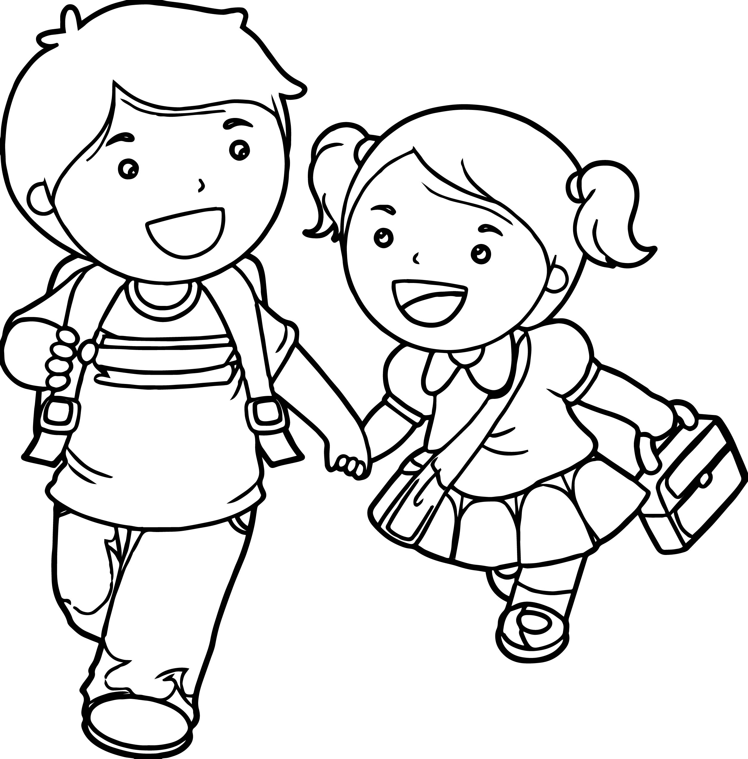 coloring boy girl coloring page boy and girl coloring home coloring boy girl