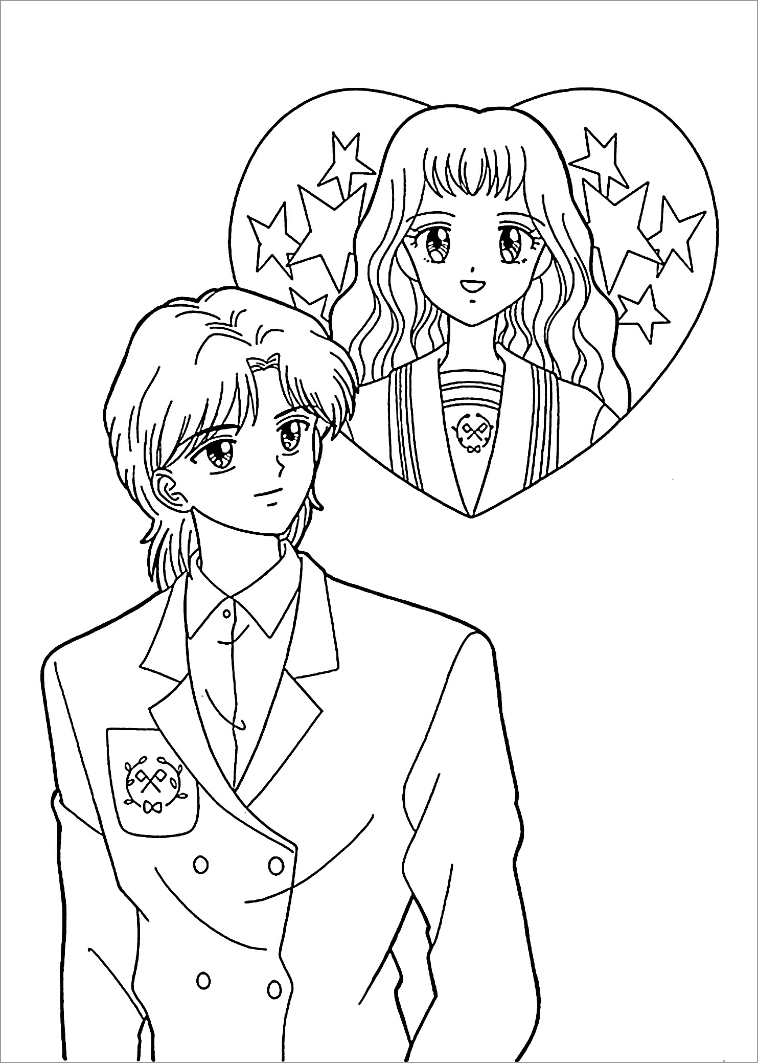 coloring boy girl free printable people themed coloring pages from craft elf boy girl coloring