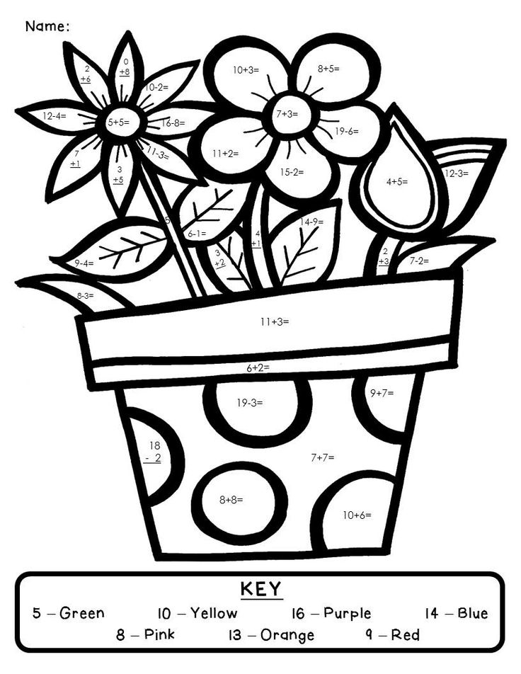 coloring by number pages free printable color by number coloring pages best by pages number coloring