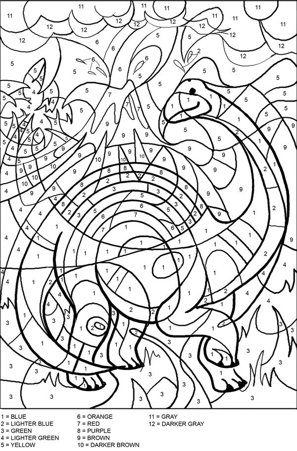 coloring by number pages free printable color by number coloring pages best coloring by pages number