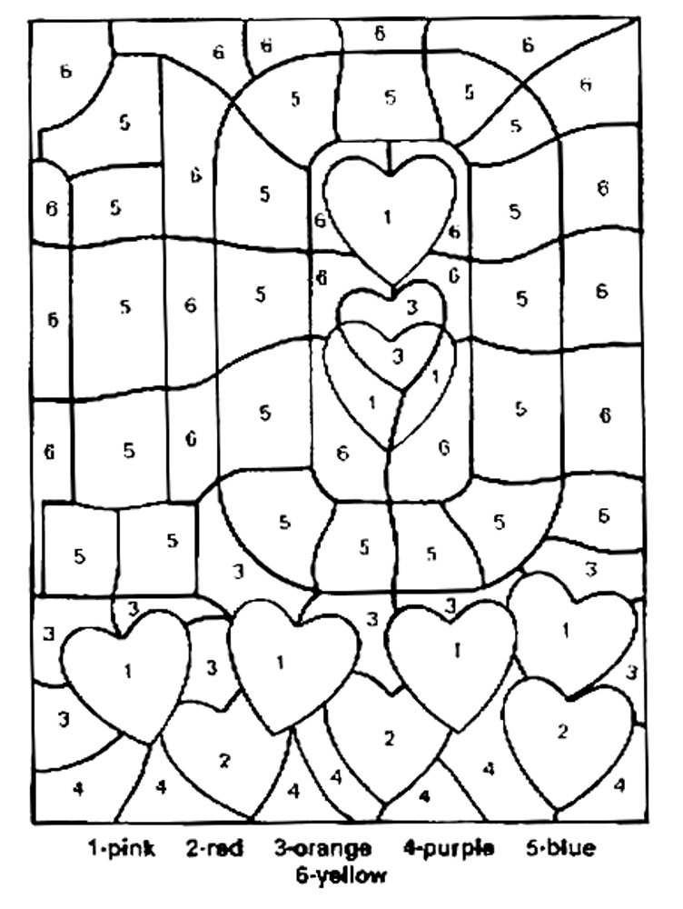 coloring by number pages free printable color by number coloring pages best number pages by coloring