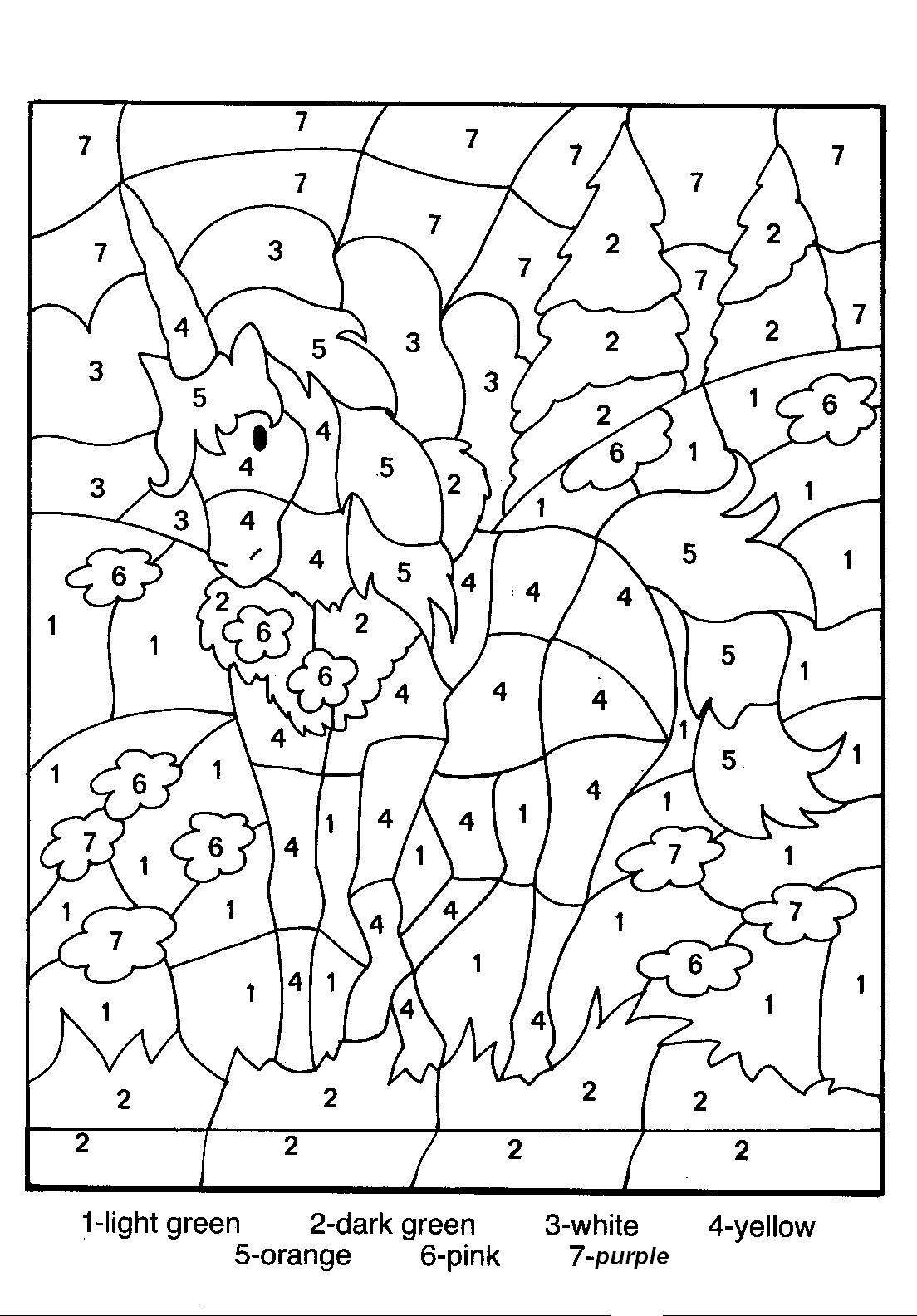 coloring by number pages free printable color by number coloring pages best pages coloring number by