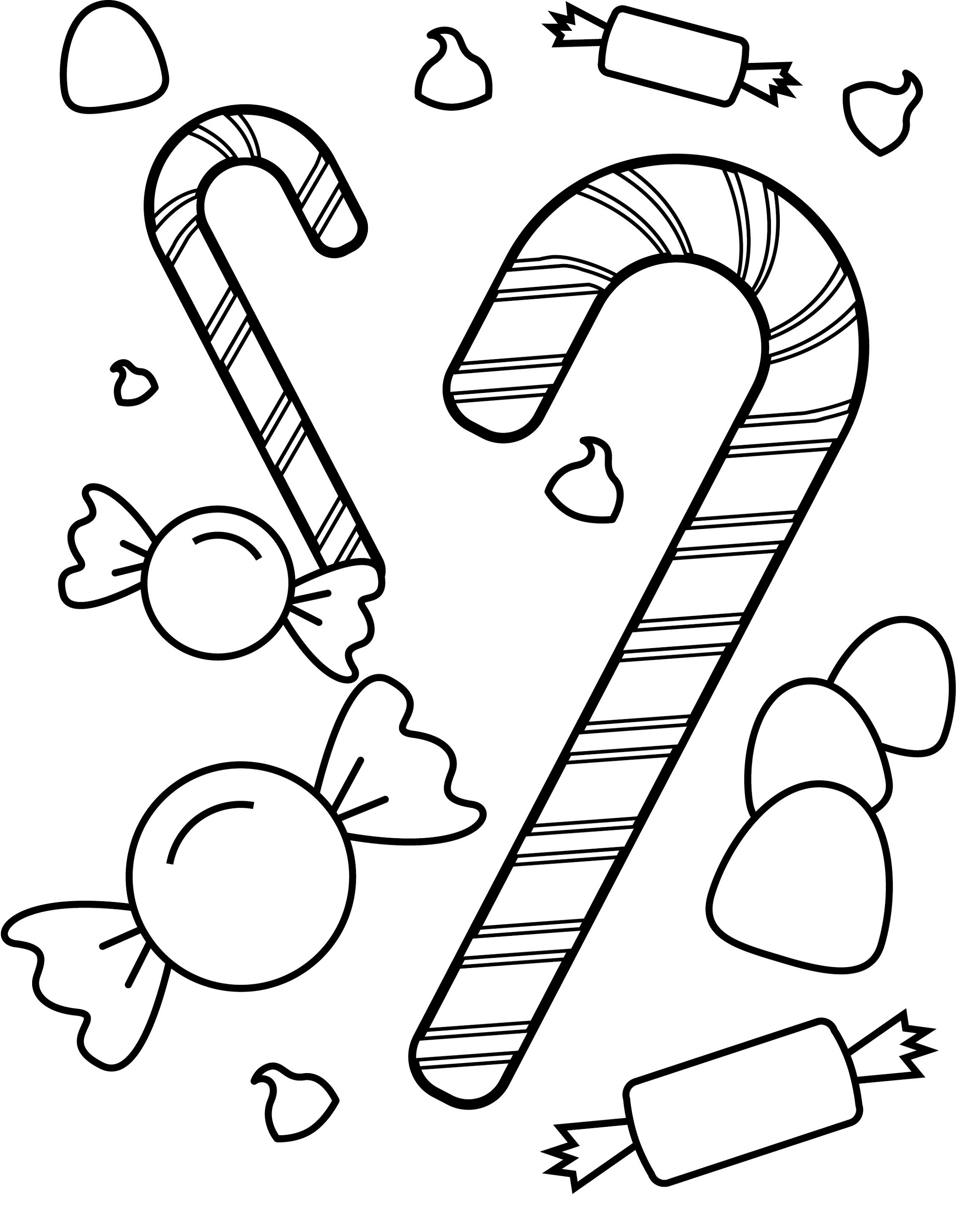 coloring candy sweets and candy coloring pages candy coloring