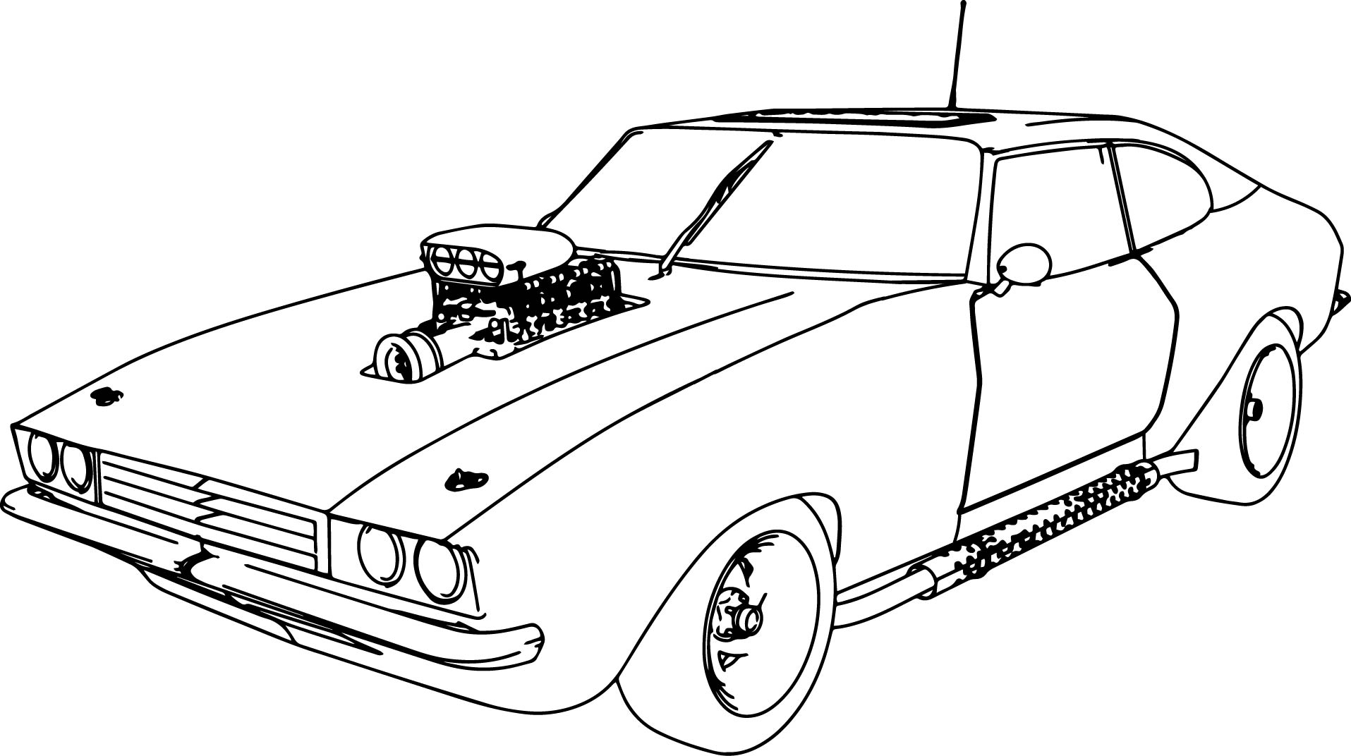 coloring car print sports car coloring pages to print 13 image coloringsnet car coloring print