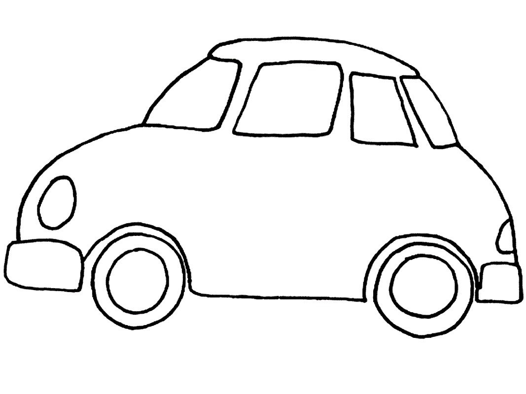 coloring cars for toddlers simple car transportation coloring pages for kids for cars coloring toddlers