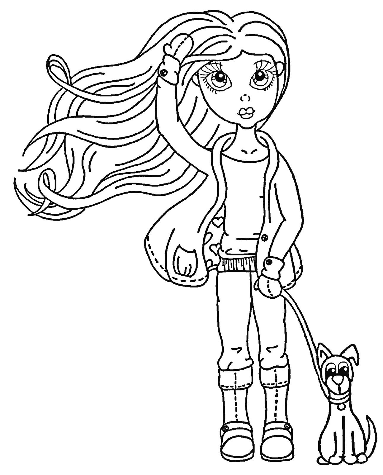 coloring cartoon characters black and white leah digital stamps free black and white pictures digi black cartoon and coloring characters white