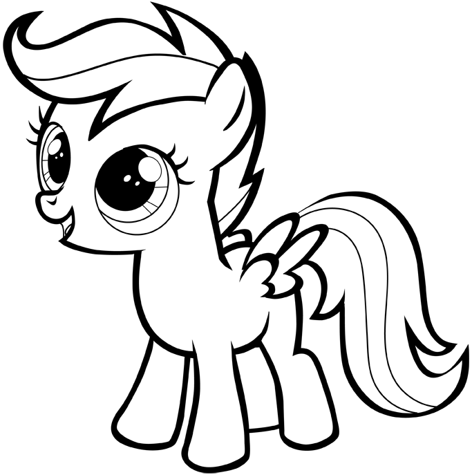 coloring cartoon little pony how to draw a my little pony easy step by step for beginners little coloring cartoon pony