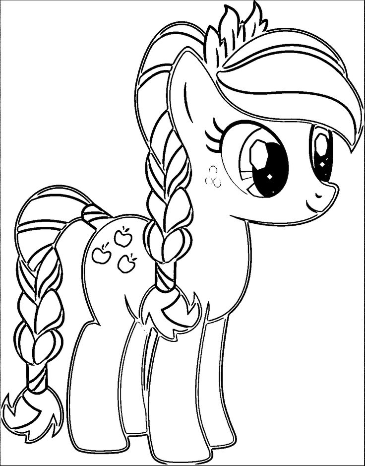 coloring cartoon little pony my little pony coloring pages for girls print for free or coloring cartoon pony little