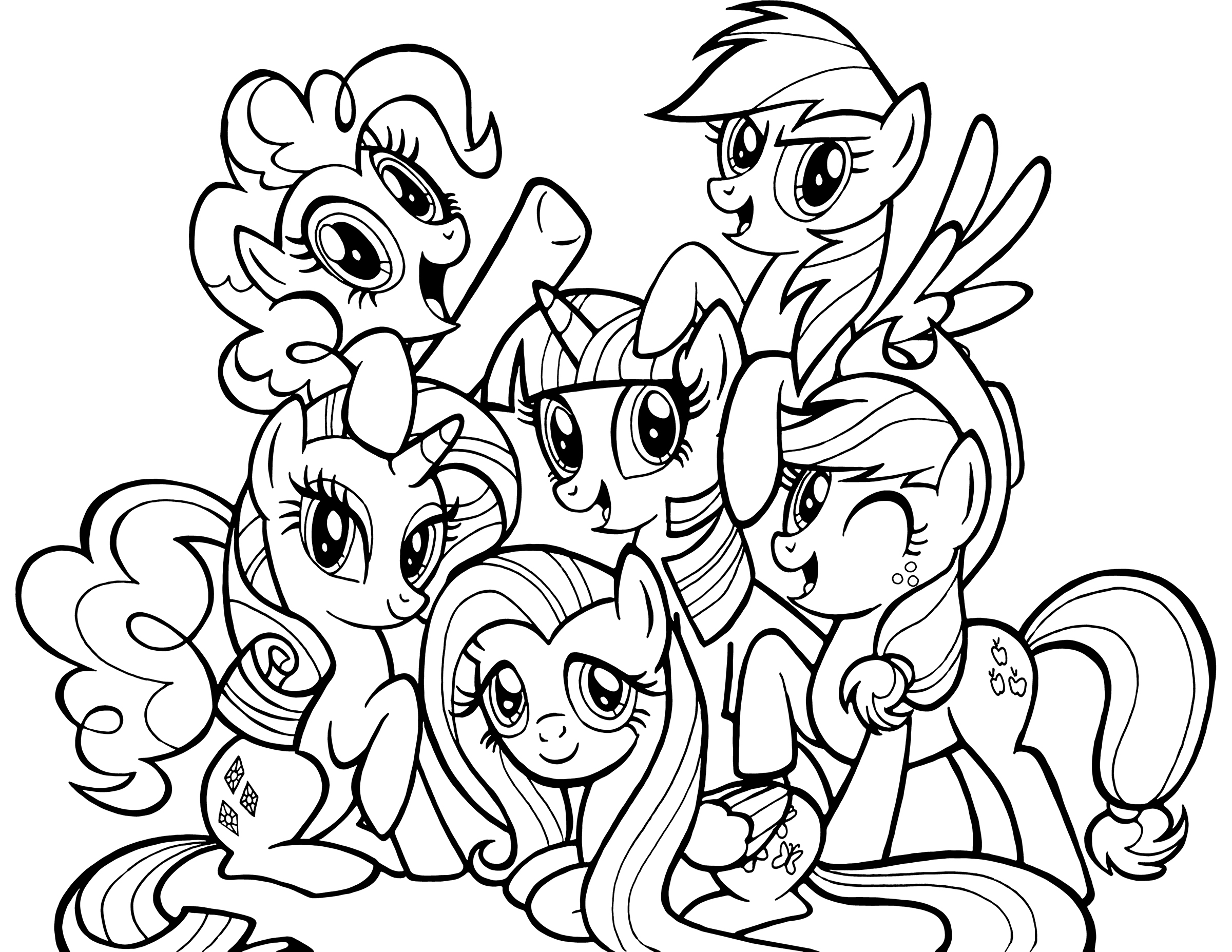 coloring cartoon pony my little pony coloring pages print and colorcom coloring pony cartoon